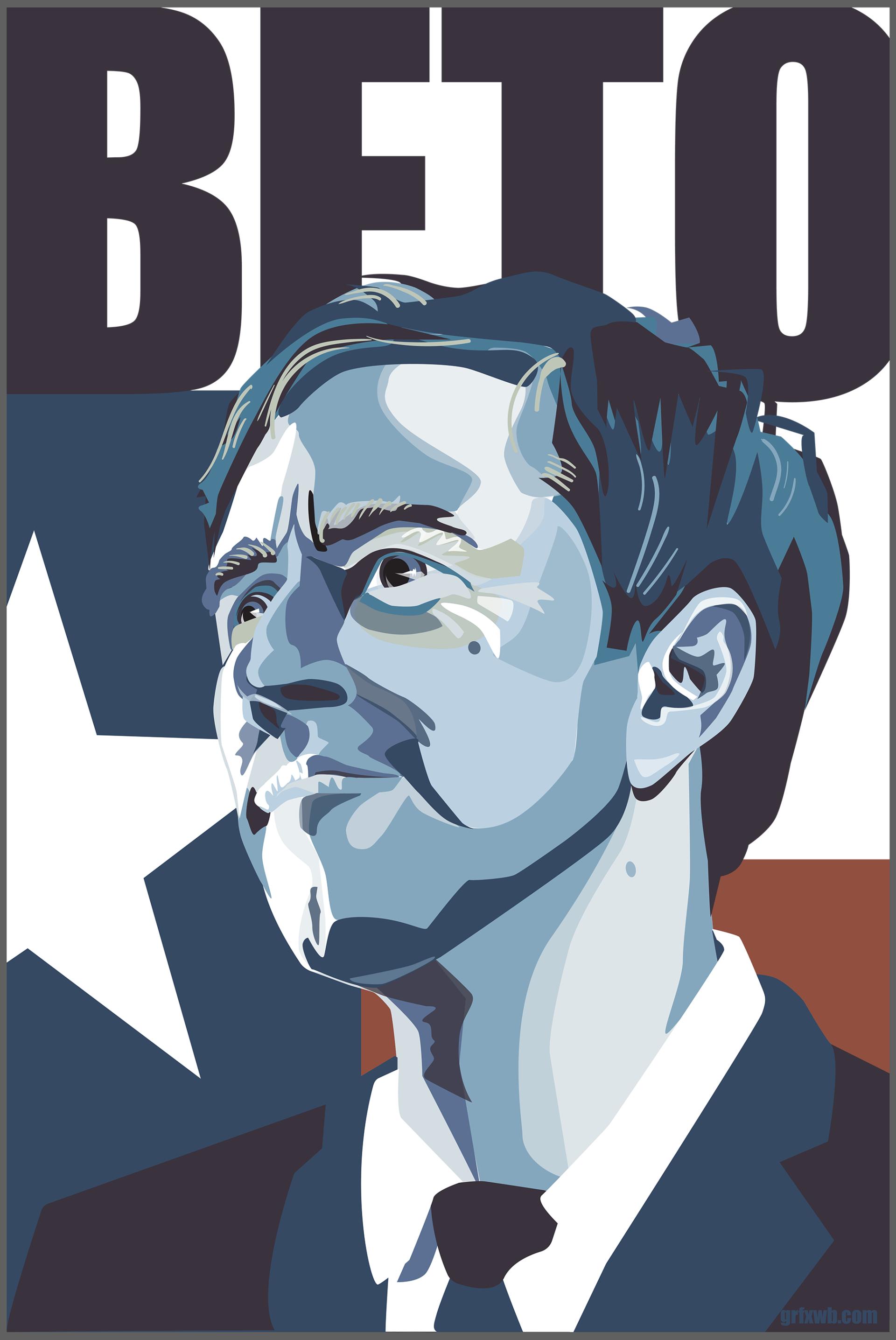 Beto O'Rourke Campaign Poster