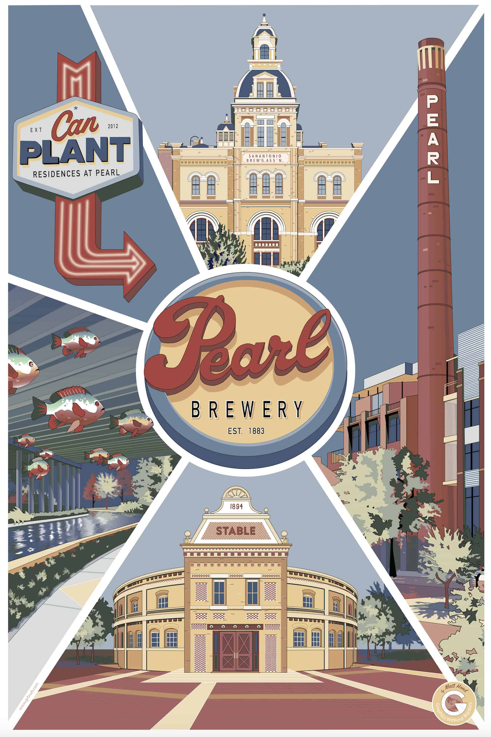The Pearl Brewery in San Antonio