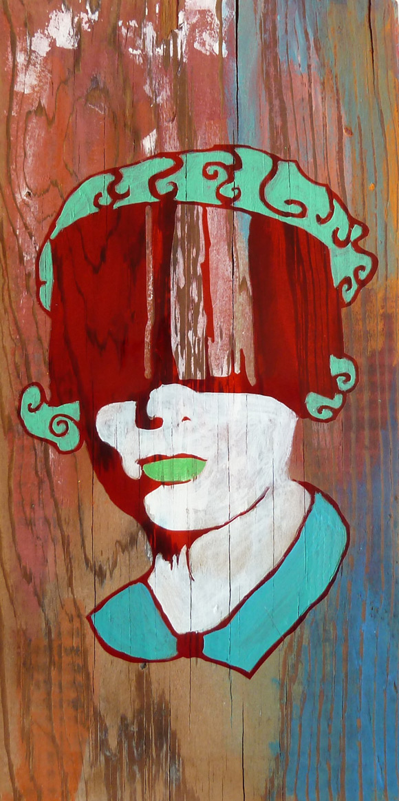 Blindfold Girl (Study)