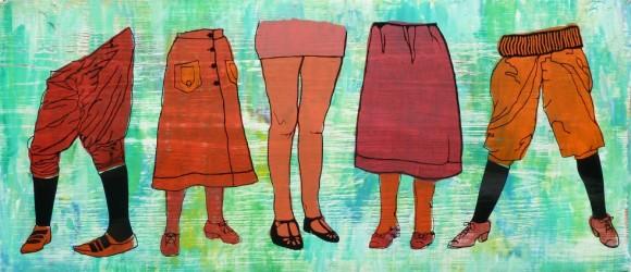 32x4 Lady Legs Roaring Twenties eaa