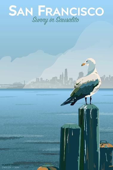 San Francisco: Sunny in Sausalito