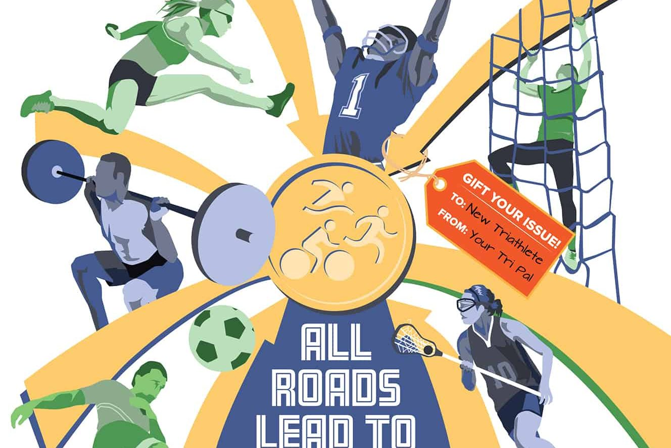 Triathlon Cover Illustration