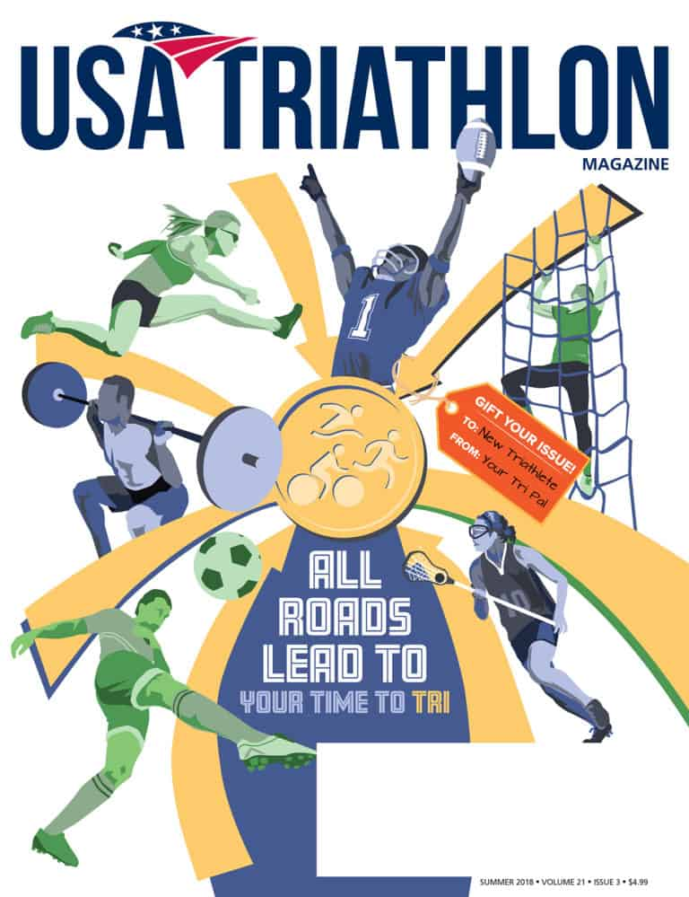 Triathlon Cover Illustration